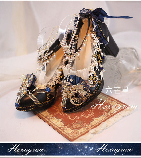 The Constellation - Amazing Princess Tea Party Lolita Heel Shoes
