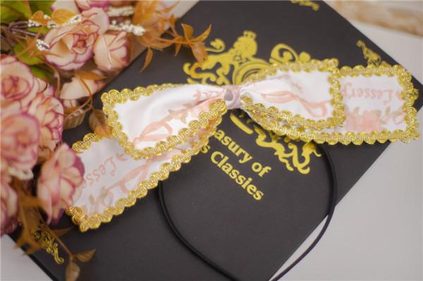 Kiyana -Raccoon Dessert House- Sweet Lolita Headbow