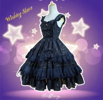 Neverland -Wishing Star- Classic Normal Waist Lolita JSK