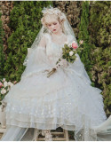 Flower Fairiy Tea Party Princess Lolita OP Dress
