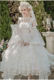 Flower Fairiy Lolita Necklace and Veil