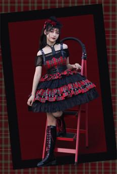 Milu Orig -Rock Maiden- Punk Lolita JSK