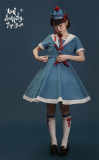Sing A Lullaby for You -Peace Dove- Sailor Lolita Hat and Socks