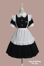 Sing A Lullaby for You -Cute Shop Assistant- Casual Sweet Lolita OP Dress