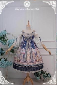 Long Ears and Sharp Ears Studio -Eternal Love Song- Classic Lolita OP Dress Version II