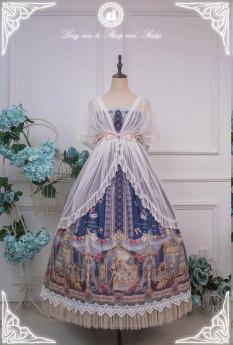 Long Ears and Sharp Ears Studio -Eternal Love Song- Classic High Waist Lolita OP Dress Version I