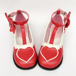 Antaina - Sweet Heart Lolita Flat Shoes