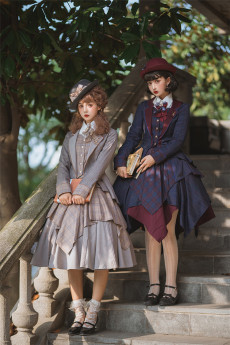 Fantastic Wind -Excellent Students- Classic Lolita JSK, Skirt and Jacket