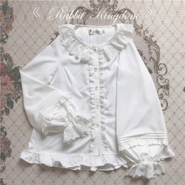 Unideer -Rabbit Kingdom- Lolita Blouse and Cape