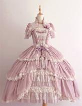 Henrietta -Looking For Butterfly- Gorgeous Classic Vintage Princess Lolita OP Dress(General Dress Length)