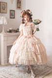 Henrietta -Looking For Butterfly- Gorgeous Classic Vintage Princess Lolita OP Dress(General Dress Length)