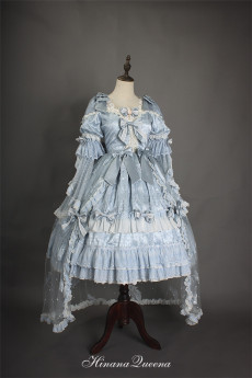 HinanaQueena -Moon Bud- Gorgeous Classic Princess Lolita OP Dress