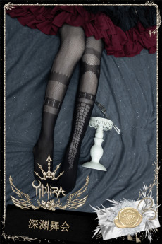 Yidhra -Ball of the Abyss- Lolita Tights for Summer and Spring