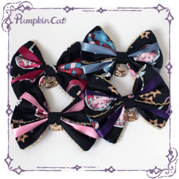 Pumpkin Cat -Creepy Sugar- Sweet Gothic Lolita Accessories