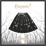 DarkRuby -Little Devil Heron- Sweet Halloween Gothic Lolita Skirt