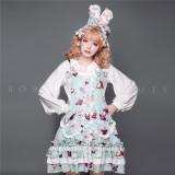Mangosteen Sweet Lolita Salopettes