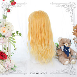 Dalao - Sunflower Long Curly Wavy Lolita Wig