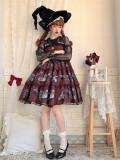 DarkRuby -Little Devil Heron- Sweet Halloween Gothic Lolita JSK