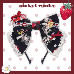 PinkyWinky -Strawberry Cream- Sweet Lolita Accessories