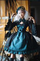 Bakemono -The Confusion of Medusa- Gothic Lolita JSK, Short Jacket and Hat