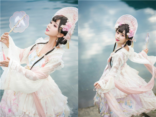 Jellyfish Lolita -Lily of the Valley- Qi Lolita Blouse