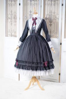 Fantastic Wind -Doll House- Vintage Classic Lolita OP Dress