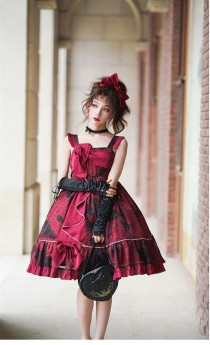 Angels Heart -Small Koi Fish- Sweet High Waist Lolita JSK Version III
