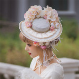 Rotate Ballet -Andena- Classic Vintage Lolita Hat