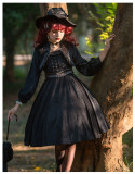 Cat Highness -Miss Tasha- Classic Vintage Lolita JSK and Short Jacket Set