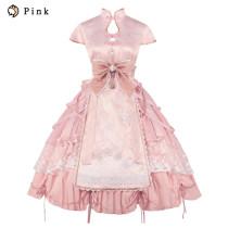 Peach Monster in the Moon Qi Lolita OP Dress