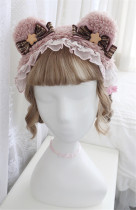 Alice Girl -Sailor Bear- Bear Ear Lolita Headwear