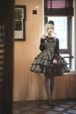 Flower Banquet -Rebel Diary- Classic Lolita JSK and Cape Set for Autumn and Winter