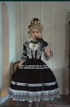 Himesama Holiday -Taboo Heartbeat- Classic Lolita OP Dress