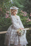 Fantastic Wind -In the Flower- Classic Embroidered Lolita OP and JSK