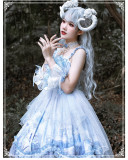 Yinluofu -The Whale- Sweet Lolita JSK Set