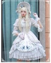 Yinluofu -Rozen Maiden- Classic Vintage Lolita OP Dress