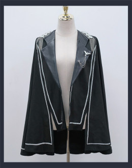 Cat Highness -Night Owl- Ouji Lolita Cape and Hat