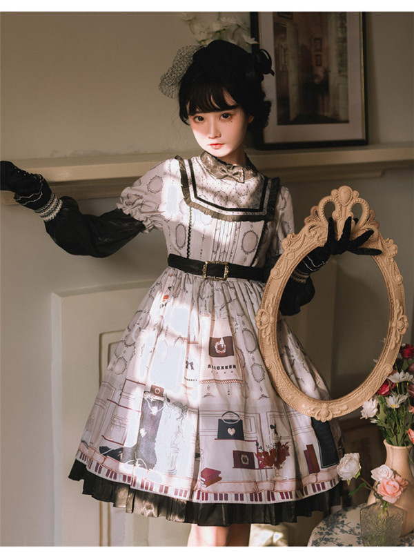 Paris Classic Elegant Lolita OP Dress