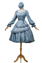 Fantastic Wind -Bramble Rose- Classic Lolita OP Dress
