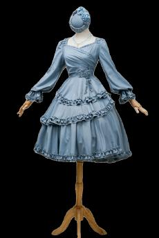 Fantastic Wind -Bramble Rose- Classic Lolita OP Dress