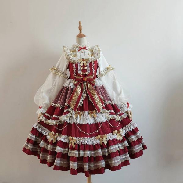 Puppet Night - Sweet Lolita Dress Set