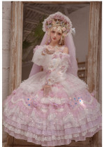 Miss Anne's Tea Party Princess Tea Party Wedding Lolita JSK