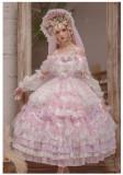 Miss Anne's Tea Party Princess Tea Party Wedding Lolita JSK