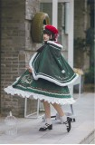 Withpuji -Wish Bell- Sweet Christmas Theme Lolita OP and Cape