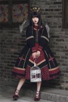 Withpuji -The Cross- Halloween Gothic Lolita OP Dress