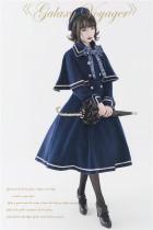 Unideer -Galactic Travelers- Vintage Classic Lolita Coat with Cape