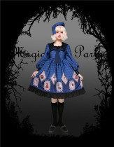Magic Tea Party -No Survivor- Sweet Gothic Lolita OP Dress