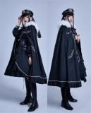 Liliko -The Judgement- Ouji Military Lolita Hat