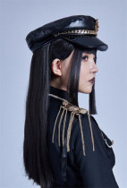 Liliko -The Judgement- Ouji Military Lolita Hat