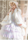 Snow Song Christmas Sweet Lolita Cape